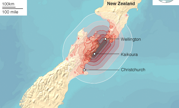 New Zealand earthquake: 100,000 landslides amid aftershocks