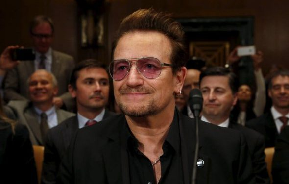 "Bono Tells Trump ""Gender Equality Must Be Your Priority"""