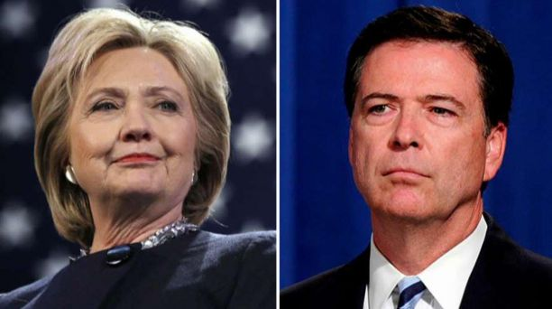 Clinton Blames Comey For Losing The Election
