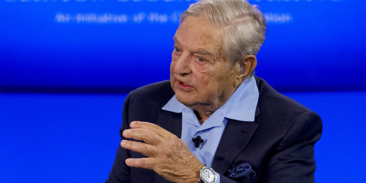 George Soros Prepares For War With Trump!