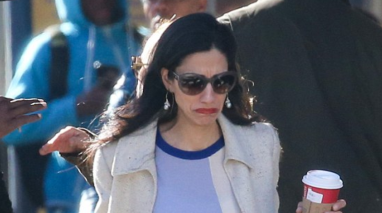 Huma Abedin Spotted In Public For The First Time Since Hillary Clinton's Loss