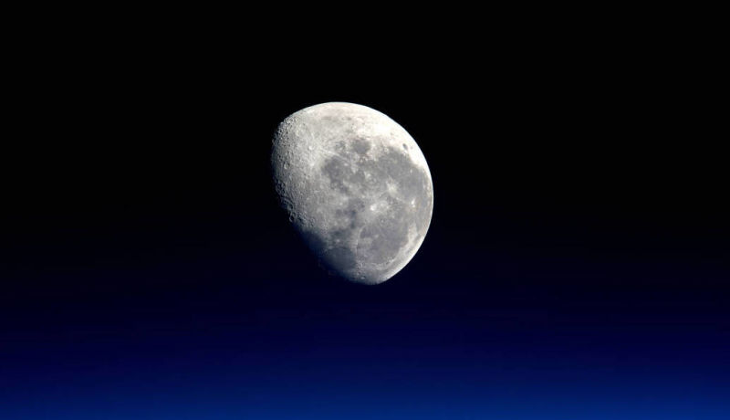 Supermoon picture from Nasa