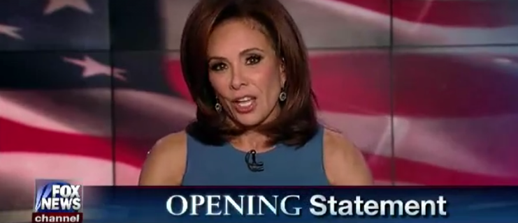 'You're All Hypocrites!': Judge Jeanine Tears Into 'Hamilton' Cast