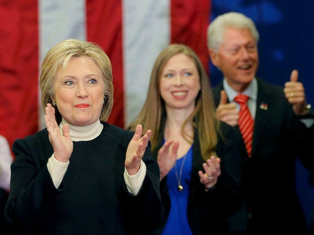 Clinton Foundation Donations Plummeted by 37 Percent