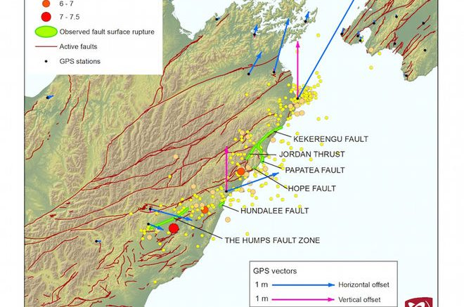 New Zealand Quake Ruptured 6 Faults