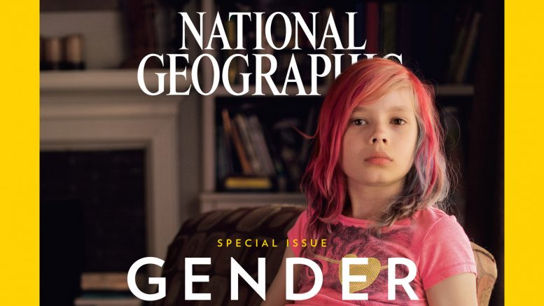'National Geographic' Makes History With 9-Year Old Transgender On Cover