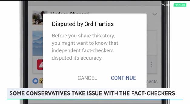 Who will check Facebook's 'fact checkers?'