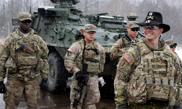 WAR GAMES US sends special forces to RUSSIAN BORDER as Nato is poised to strike back against Vladimir Putin's 'aggression'