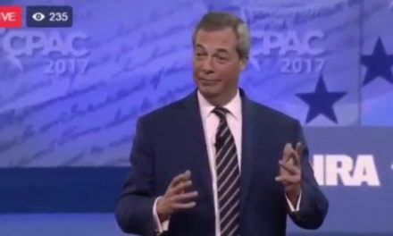 Nigel Farage Mocks CNN In Powerful CPAC Speech, Crowd Gives Standing Ovation! (VIDEO)