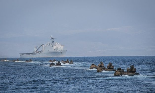 US twin sea buildup against China, N.Korea and Iran