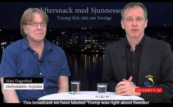 Swedish Journalists: TRUMP was Right About Sweden (VIDEO)
