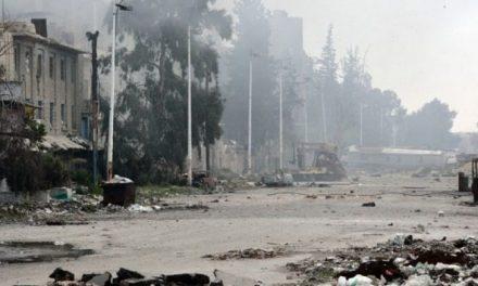 U.N. says 300,000 civilians at risk in Damascus battle
