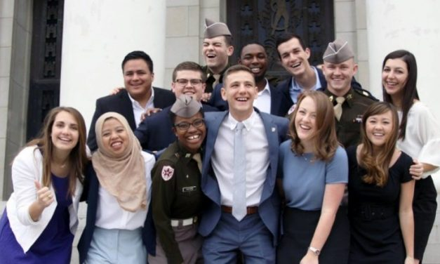 Texas A&M's first openly gay student body president to take office