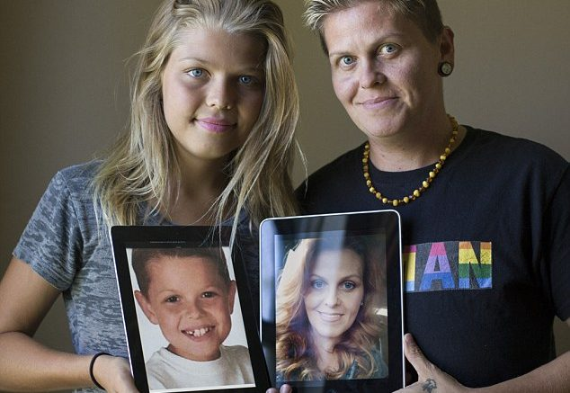 Bizarre Transformation Of Mother and Son becoming Father and Daughter