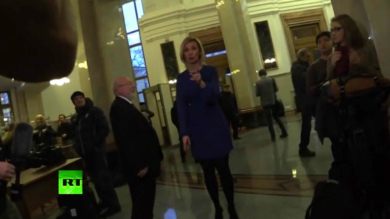 Russian Foreign Ministry Spokeswoman to CNN: 'Stop Spreading Lies and Fake News' (VIDEO)
