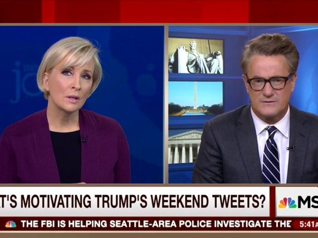 Mika Brzezinski Says Trump 'Possibly Unfit Mentally,' Suggests Country on the Road to Totalitarianism