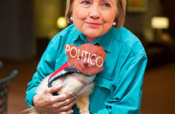 How POLITICO Became Hillary's (Anti-Constitution, Anti-Journalism, Anti-Conservative) Lap Dog