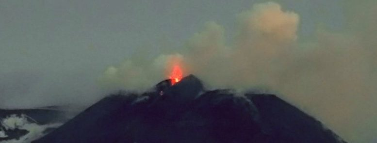 Activity at Mount Etna spreading to all craters, Italy