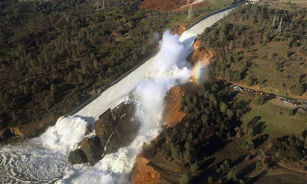 Damaged Oroville Dam spillway may need to be used by next week