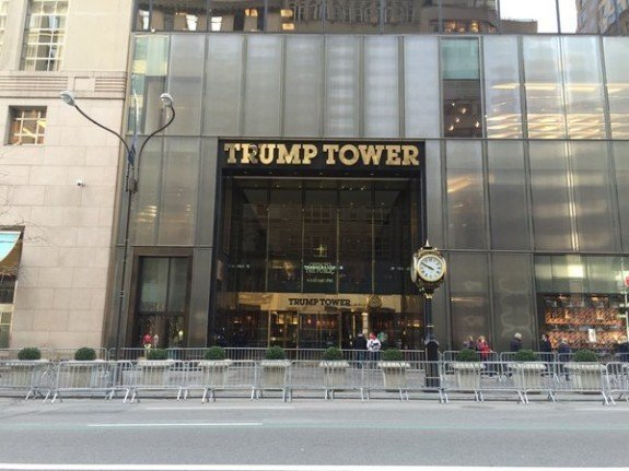 DEVELOPING: Laptop with Trump Tower floor plans stolen from Secret Service agent…