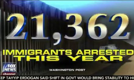 Over 21,000 Illegal Immigrants Arrested So Far This Year – Up 32% From Last Year (VIDEO)