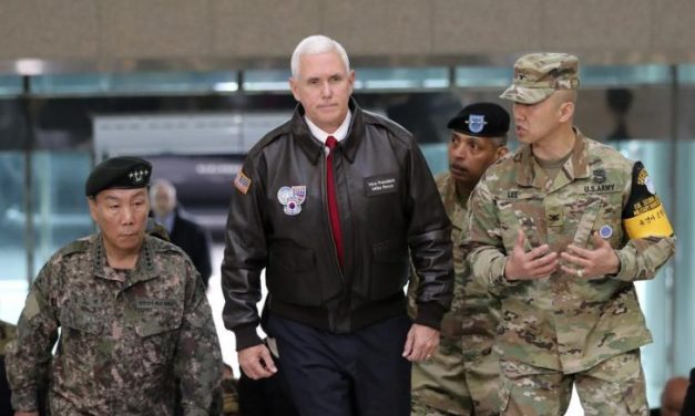 Pence delivers strong warning to North Korea