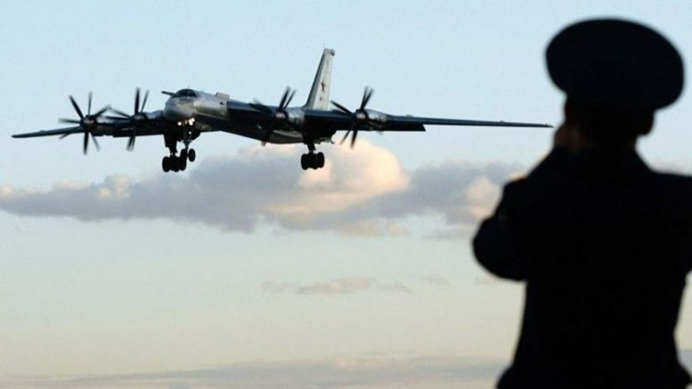 Russian nuke bombers fly near Japan… First Time In Months