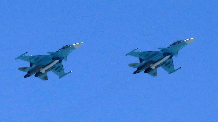 Russian bombers fly near Alaska; Air Force scrambles jets…