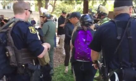 Heavy Police Presence in Berkeley as Free Speech Rally Kicks Off (VIDEOS + PHOTOS)