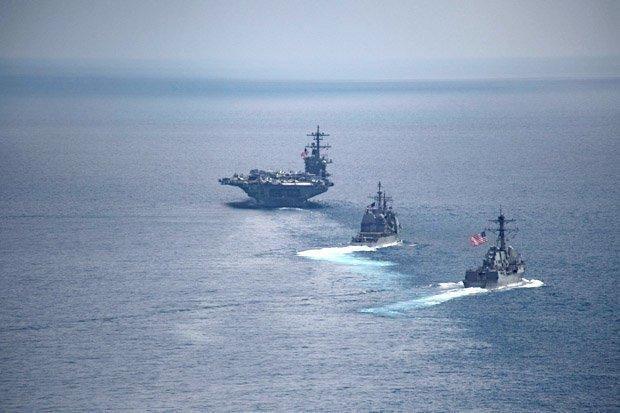 Conflict With North Korea Inevitable Warns British Admiral