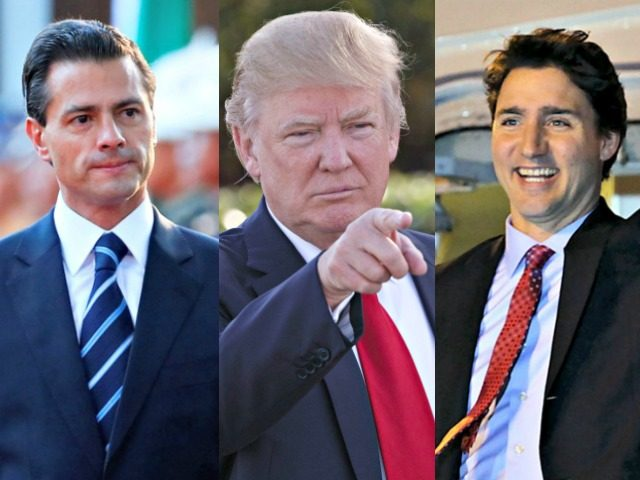 NAFTA Safe for Now: Trump Calls Trudeau and Peña Nieto to Renegotiate