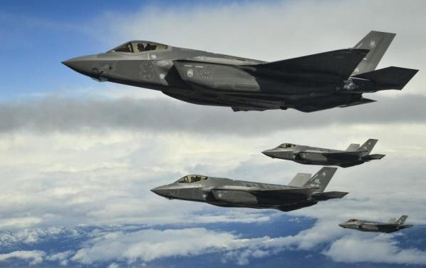 US Air Force F-35s making first operational deployment to Europe this weekend