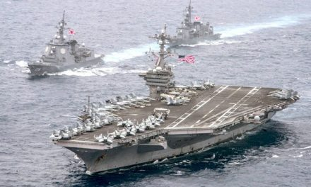 US War Fleet Now Within 'Strike Range' of North Korea