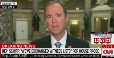 "Adam Schiff Blames 'Breitbart Crowd"" For Susan Rice Spying on Trump (VIDEO)"