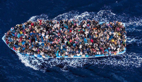 7,000 Third World Africans Make it to Europe Over Easter Weekend as Invasion Heats Up