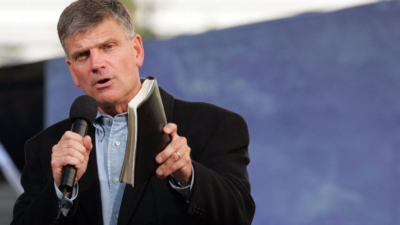 Franklin Graham Warns that It's Time for Us to Get up and Do Something!