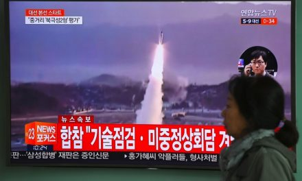 Japanese government warns North Korea missile headed toward northern Japan