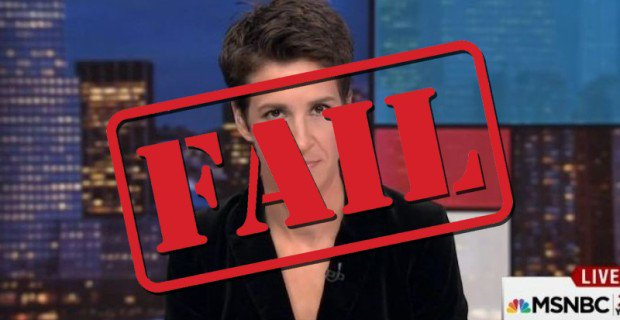 MSNBC's Rachel Maddow Dedicates Over Half of Her Airtime Talking About Russian Conspiracy Theories