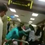 Muslim Airport Security Publicly Beats Woman, Pulls Her Hair! (VIDEO)