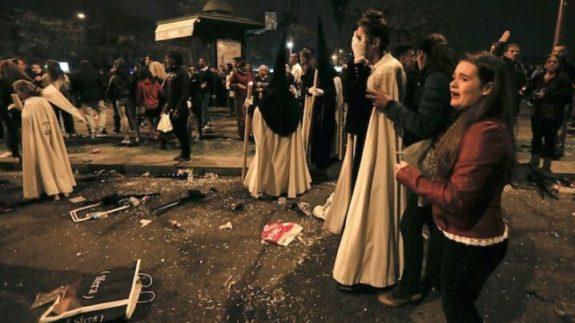 Good Friday Parade Interrupted by Rampaging Muslims Shouting 'Allahu Akbar!'