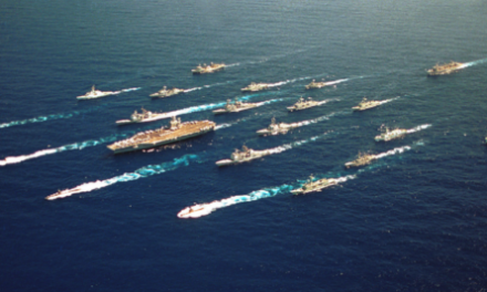 China, Russia Have Sent Ships to Track U.S. Aircraft Carrier (VIDEO)