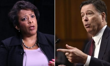 REPORT: GOP Lawmakers Plotting NEW Investigation into James Comey & Loretta Lynch
