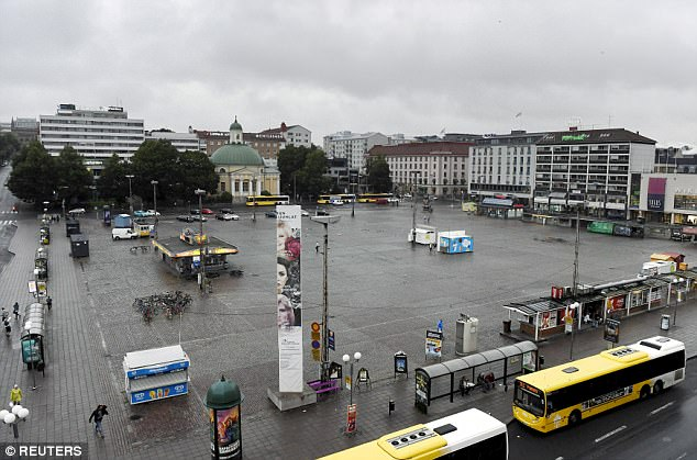 """TERROR IN FINLAND: Muslim Screaming """"Allahu Akbar"""" Goes on Stabbing Rampage in Turku (VIDEO)"""