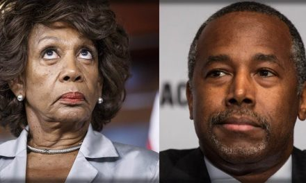 Maxine Waters Embarrasses Herself AGAIN: Ben Carson is a 'White-Wing Nationalist' (VIDEO)