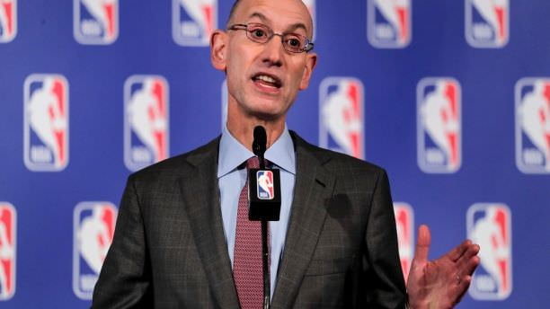 NBA Commissioner Reminds Players to Stand During Anthem 'Its a Rule'