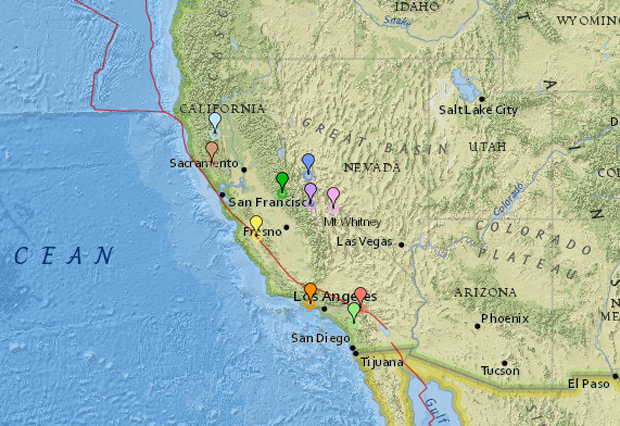 California rocked by 28 earthquakes in 24 hours as 'big one' could strike WITHOUT WARNING