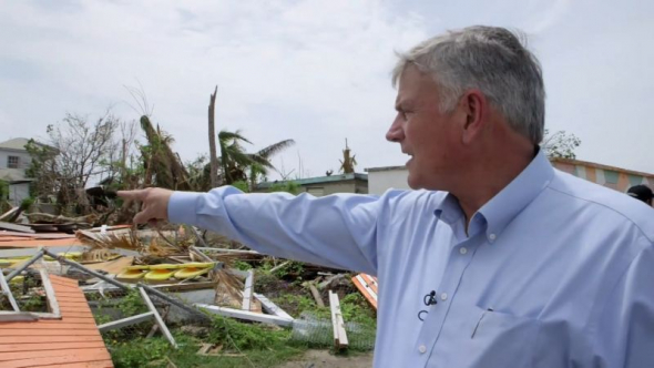 Franklin Graham Walks Through Antigua and Barbuda Devastation: It's 'Like a Bomb Went Off' (Video)