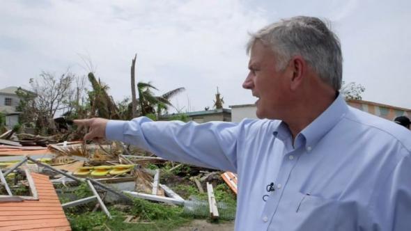 Franklin Graham Walks Through Antigua and Barbuda Devastation: It's 'Like a Bomb Went Off' (Video)