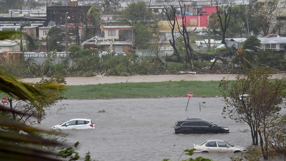 Maria Slams Puerto Rico, One Million Without Power, Could Be Months Without Power