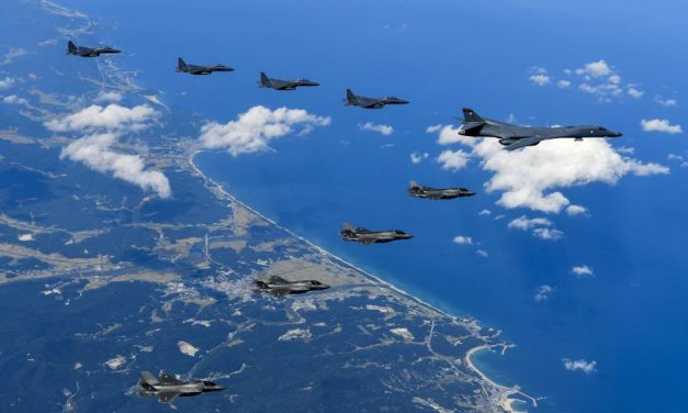 READY TO STRIKE: North Korea moves warplanes into US bombers' flight path after warning Trump they'll shoot down any American jet they see